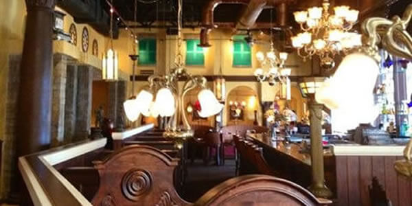 The Old Spaghetti Factory Dining Area